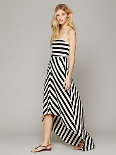 Free People Kristal's Striped Maxi at Free People Clothing Boutique