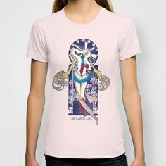 By Moonlight - Sailor Moon nouveau T-shirt- Society6