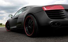 Matte r8 with redline tires