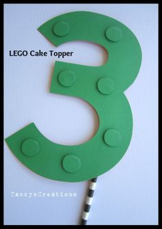 Hey, I found this really awesome Etsy listing at https://www.etsy.com/listing/180135569/number-3-lego-inspired-birthday-cake