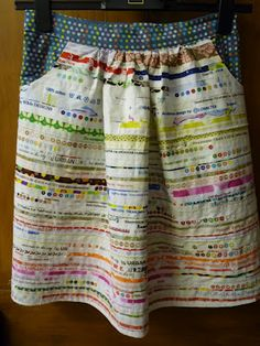selvedge skirt!! by StrawberryPatch This would also make a really cute apron
