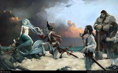The Siren by Jonny Duddle | 2D | CGSociety