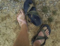 Cleaning stinky Chacos