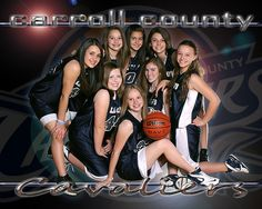 Lady Cavaliers, team photos
