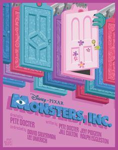Monsters Inc. by Mr-Bluebird.deviantart.com