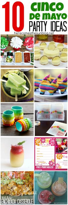 10 Cinco De Mayo Party Ideas