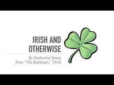 """Irish and Otherwise"