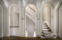 love this staircase / landing by Peter Pennoyer