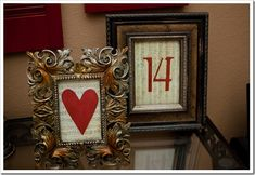 Valentines holiday, valentine day crafts, idea, a frame, valentine decorations, framed art, vintage frames, music sheets, valentin decor