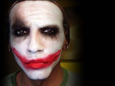 Dark Knight Joker Makeup Tutorial from Petrilude. Gettin' a few makeup tips from Puddin'! To watch later.