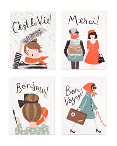 French Card Set