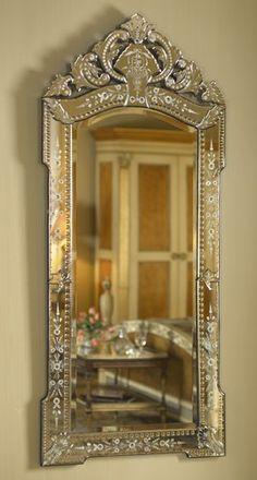Ornate mirror. Gorgeous.