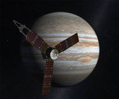A NASA spacecraft bound for Jupiter zoomed by Earth on Wednesday, picking up some much-needed speed for the long and looping trip to the solar system's largest planet. Photo: NASA / JPL-Caltech