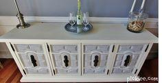 Vintage Cabinet Transformation {before & after}   Picklee