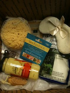 Born Free: Spa Gift Basket.   20 Gift Basket Ideas for every occasion...Thoughtful, Cheap and Awesome!