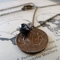 Pirate jewelry from Etsy. $32