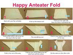 Flats: Happy Anteater Fold