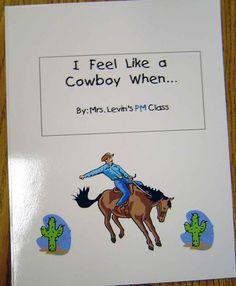 Cowboy class book via   www.pre-kpages.com/texas/