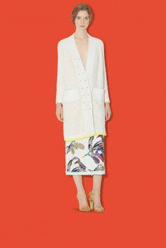 Coco lame cardigan SONIA RYKIEL model: Karley Parker