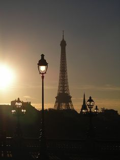 Paris sunset... Le sigh.....