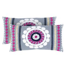 I pinned this Layla Pillow from the Rizzy Home event at Joss and Main!