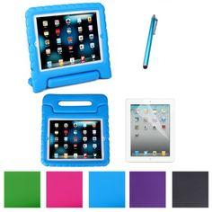 $17 HDE Kids Light Weight Shock Proof Handle Case for iPad 2/3/4 w/ Screen Protector & Matching Stylus (iPad 2/3/4, Blue) HDE http://www.amazon.com/dp/B00GDEY36Y/ref=cm_sw_r_pi_dp_KaSoub1ZHZ1GC