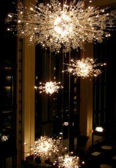 opera starburst chandelier