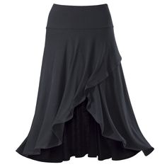 Wrap Front Skirt - New Age, Spiritual Gifts, Yoga, Wicca, Gothic, Reiki, Celtic, Crystal, Tarot at Pyramid Collection