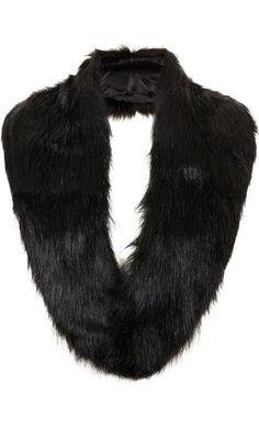 Faux Fur Stole by Topshop
