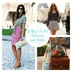 25 Ways to Mix Patterns and Prints