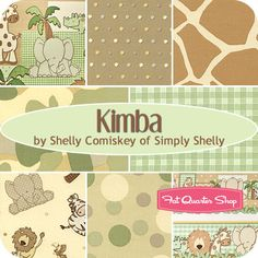 Kimba Fat Quarter Bundle Shelly Comiskey for Henry Glass Fabrics