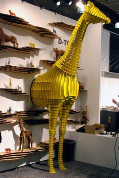 yellow japan, art, yellow giraff
