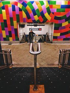 59th Street - Columbus Circle train station. Photo by Sean Moyano.