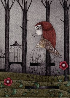 Jorinda and Joringel by Judith Clay (2) Art Print