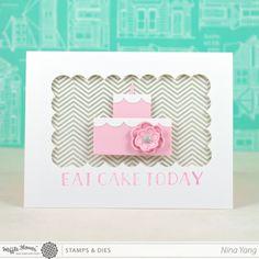 waffl, card idea, happy birthdays, cake card, happy birthday cards, card tutorials, diy card, card compleanno, birthday cakes