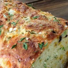 Cheese, Olive & Buttermilk Herb Bread