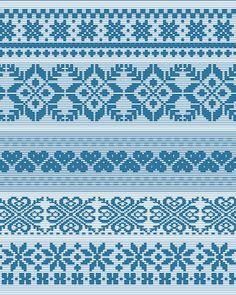 fair isle pattern 3