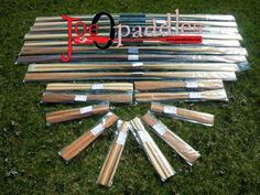A load of our paddles at one of our dealers. Greenland Paddles, Rolling Sticks/ Norsaqs etc.