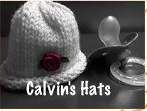 Calvin's Hats: Micro-preemie hats