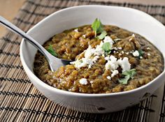 Curried eggplant soup.. perfect detox after the holiday binge
