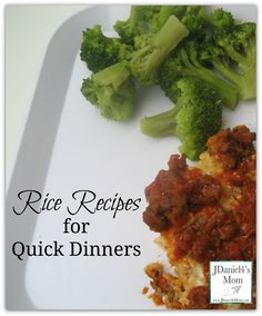Rice Recipes for Quick Dinners #SuccessRice AD