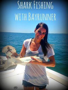 Hilton Head shark fishing with Bayrunner out of Shelter Cove Harbour