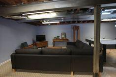 castle 39 s basement remodels on pinterest basement bedrooms unfinish