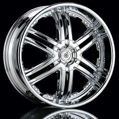 Sports Car Accesories Of Chrome Rims & Long Serviced Fashionable Rim | GradasiShop.Com