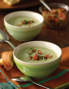 White gazpacho on Project Foodie, Recipe from Lee Bros. Simple Fresh Southern by Matt Lee and Ted Lee