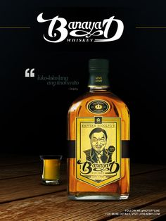 Banayad Whiskey ft. the King of Comedy, Dolphy (1928 - 2012)    More info about this, including the video which inspired it,  via http://x.co/dolphy