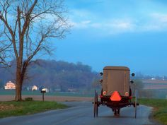 Amish Buggy Lancaster County PA