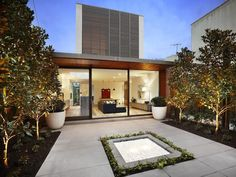 Inspirational contemporary home with a garden sanctuary