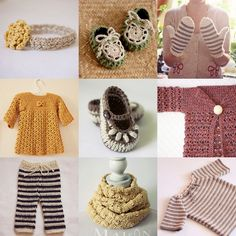 crochet and knitting patterns, mon petit violon, baby clothes and shoes, women accessories