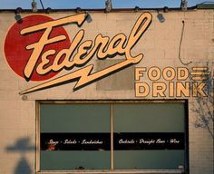 The Federal.  Just your standard bar food??  I think not!